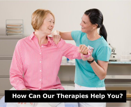 How Can Our Therapies Help You?